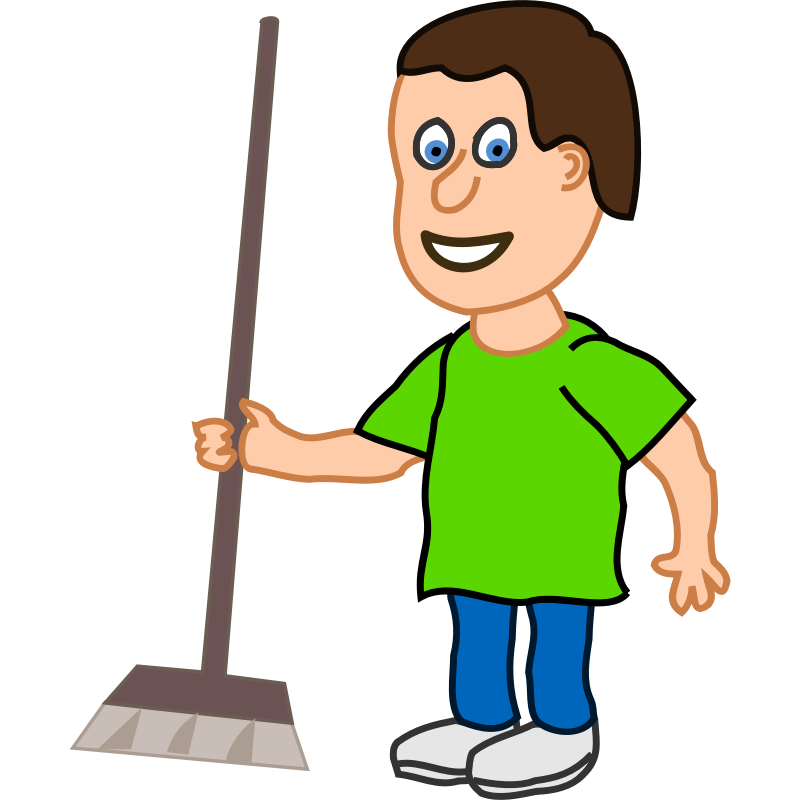 Housekeeping clipart person. Free pics of people