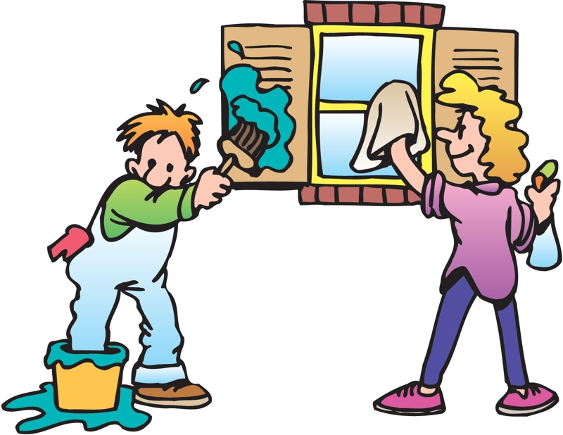 Cleaner clipart student. House cleaning at getdrawings