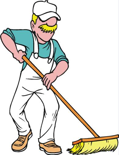 Housekeeping clipart person. Cleaning animated images