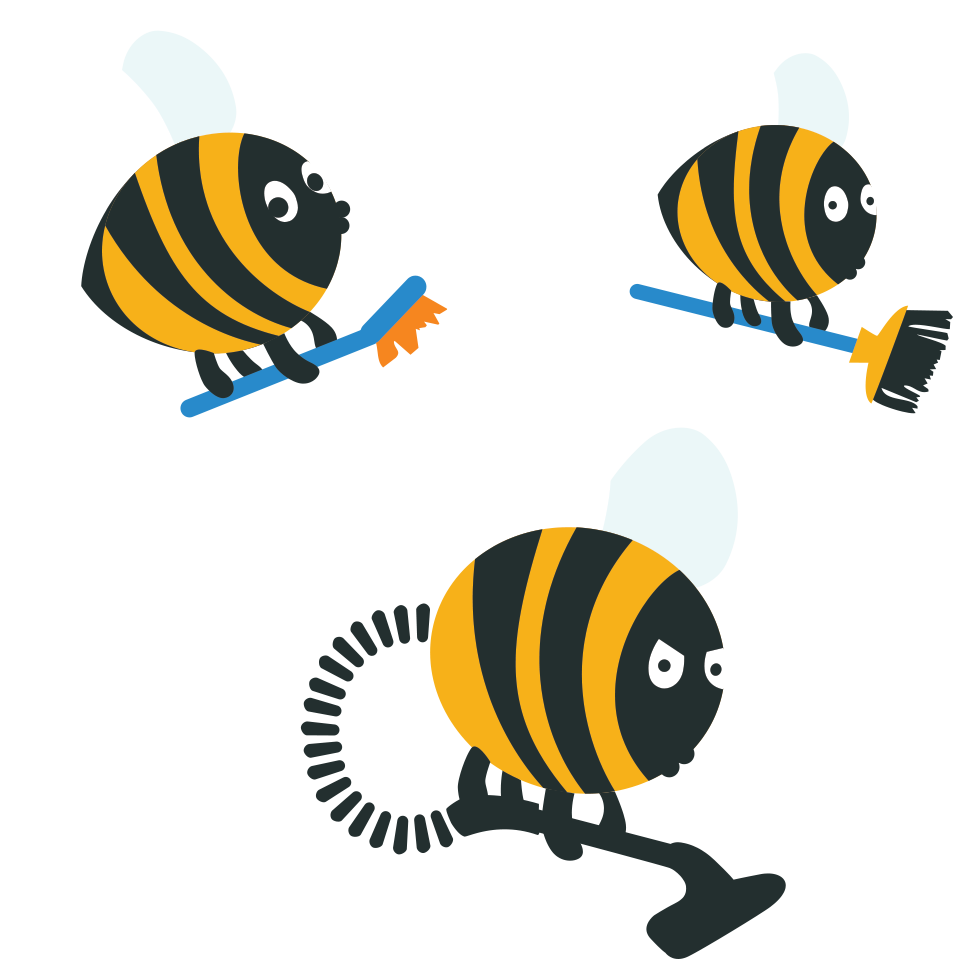 Housekeeping clipart swimming pool maintenance. Cleaning bee clip arts