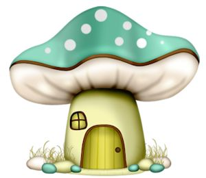 Mushrooms clipart animated. Best fantasie images