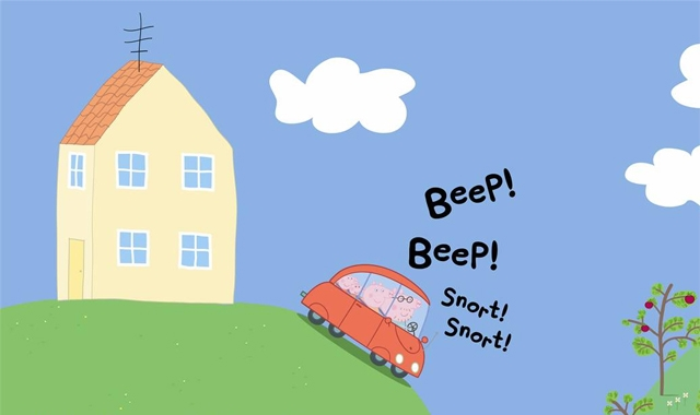 Houses clipart peppa pig. And its perplexing mysteries