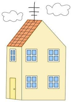 Houses clipart peppa pig. Pin by mar a