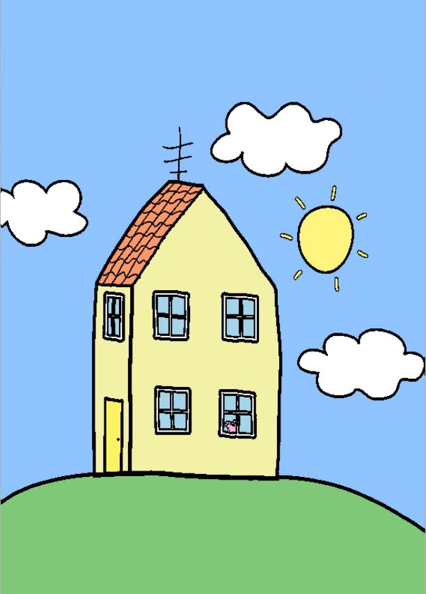Houses Peppa Pig Transparent PNG Clipart Free Download YWD