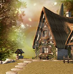 Houses clipart seven dwarfs. Pin by dgmila on