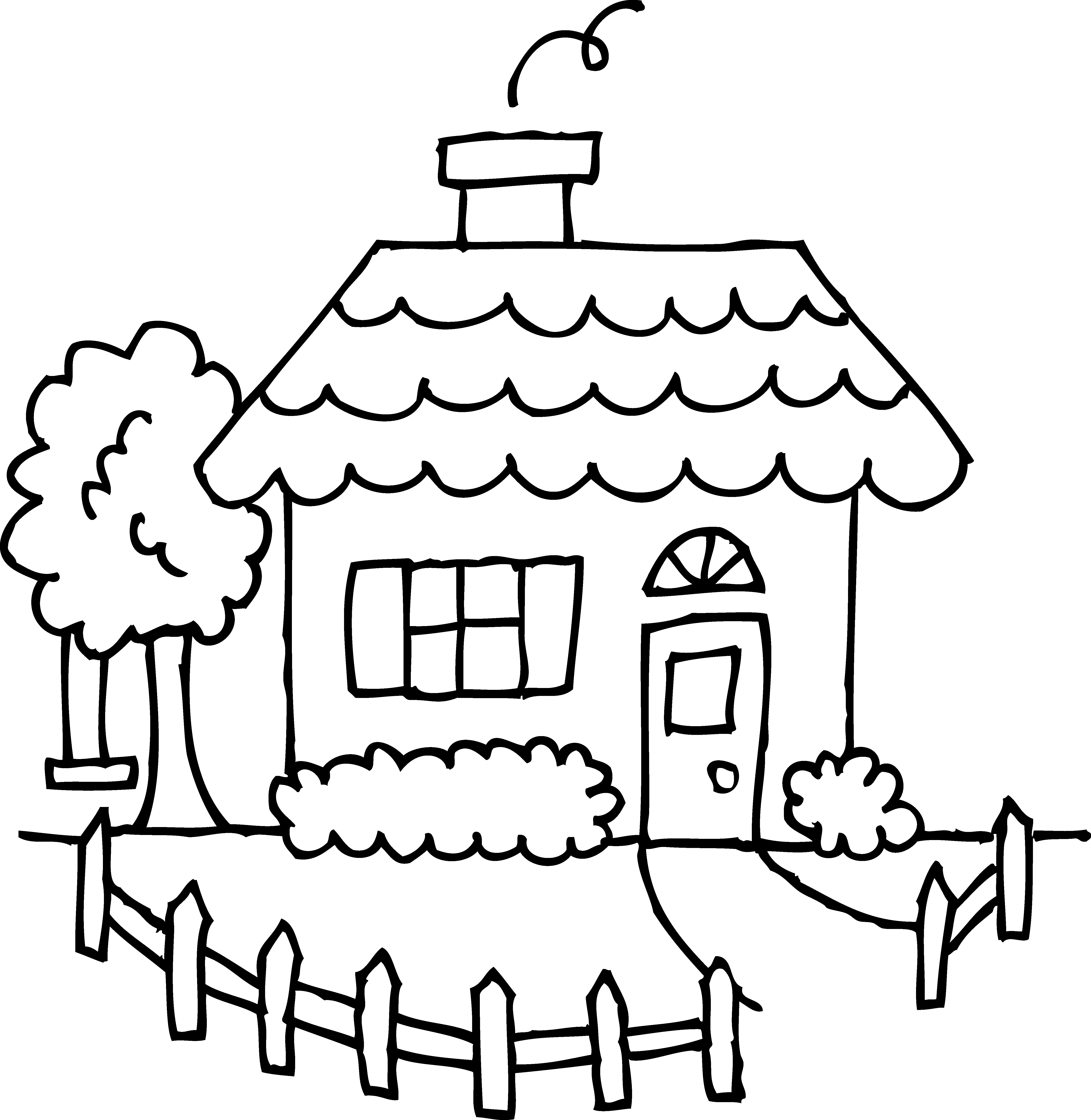 country clipart front yard