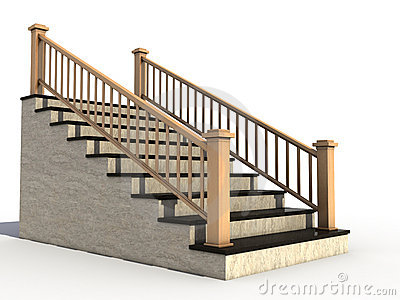 houses clipart staircase