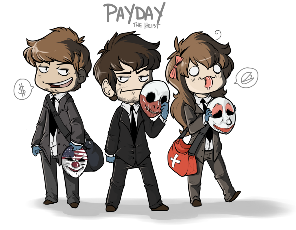 Houston drawing payday 2. Hoxton explore on deviantart