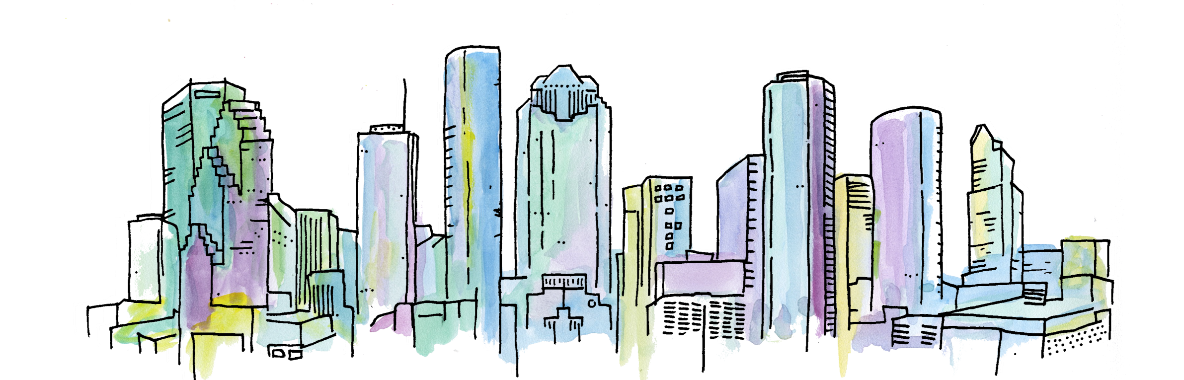 Houston drawing city. Cres commercial real estate
