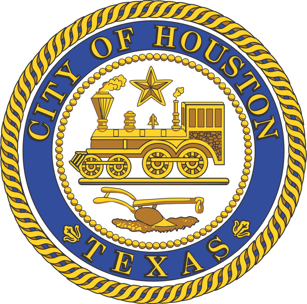 Houston vector city. File seal of texas