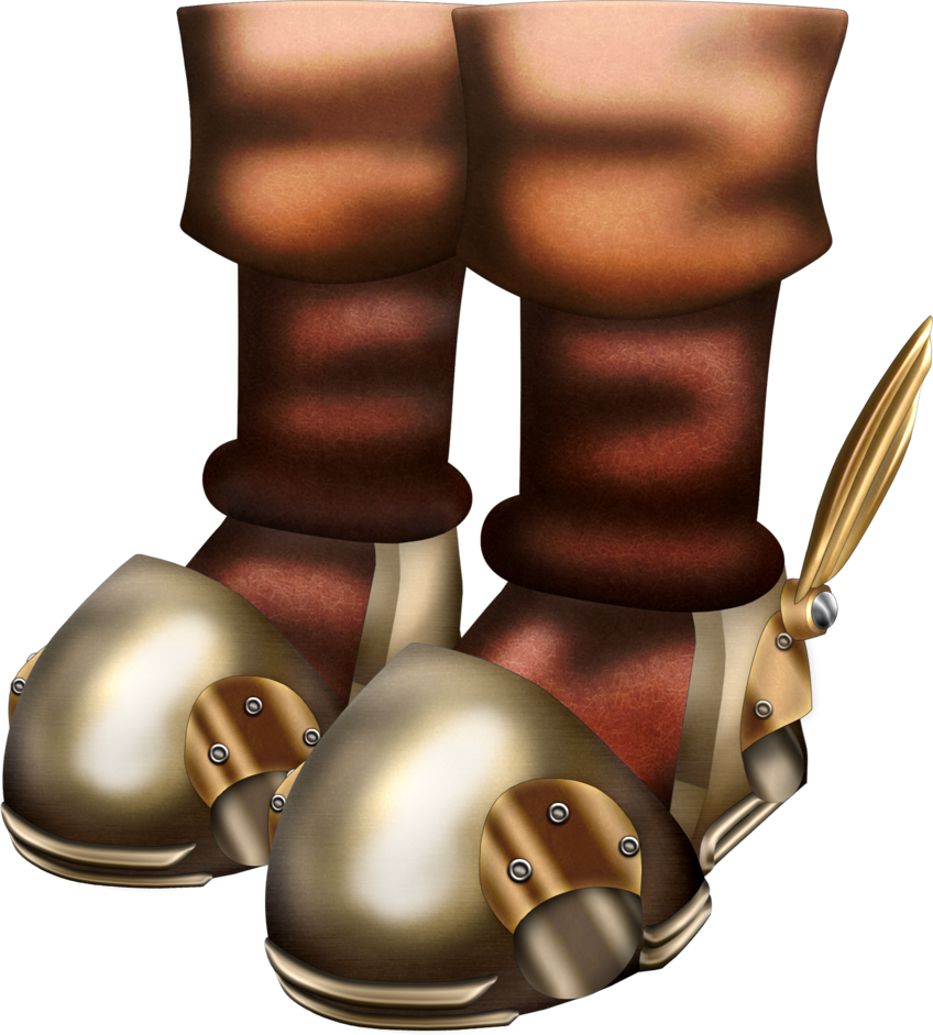 Hover boots png. Oot by blueamnesiac on