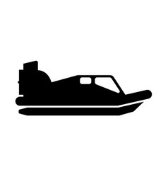 Hovercraft. Vector images over