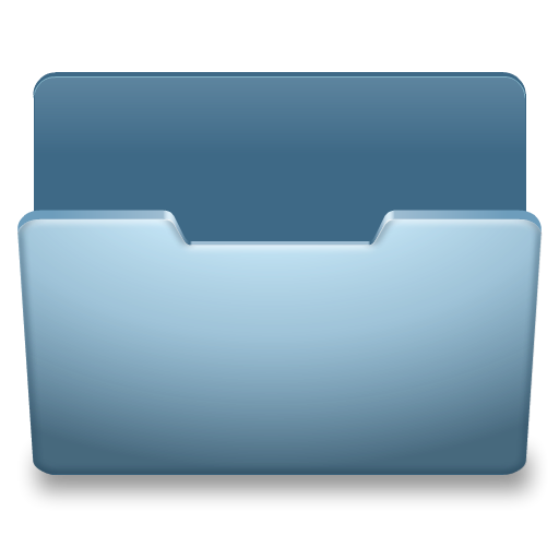 How to open .png files. Ocean blue icon classy