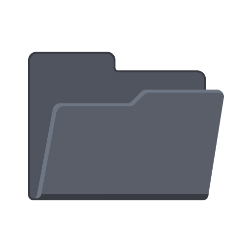 open file folder png