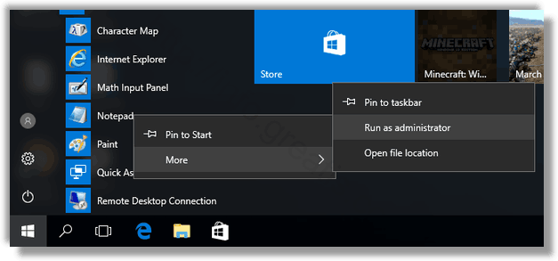 How do i open a png file in windows 10. To edit the hosts