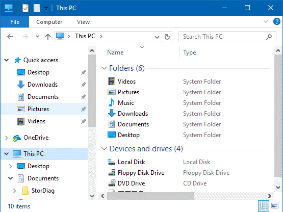 How do i open a png file in windows 10?. To enable the command