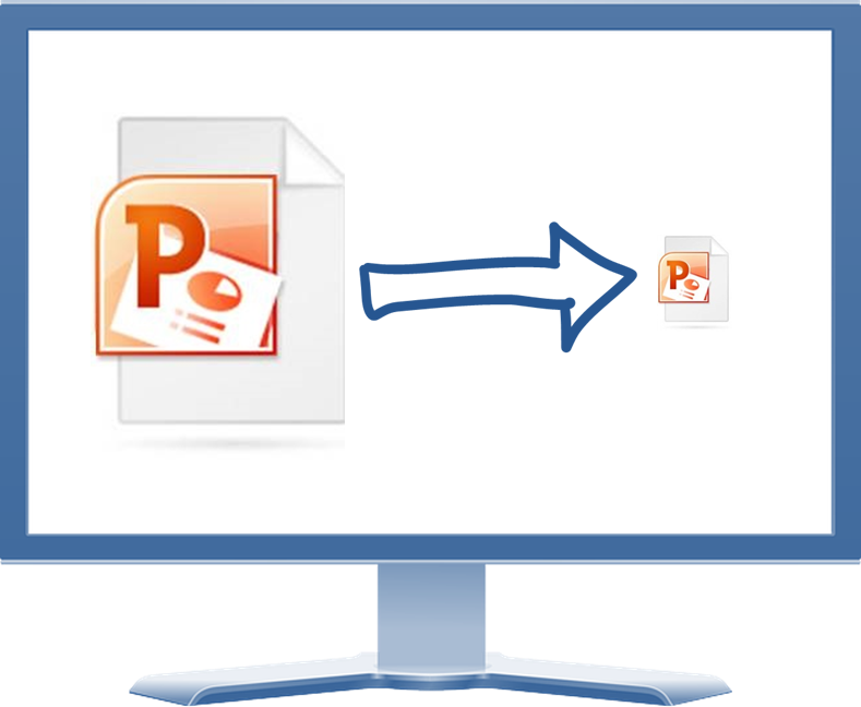 How do i reduce the size of a png?. To large microsoft powerpoint