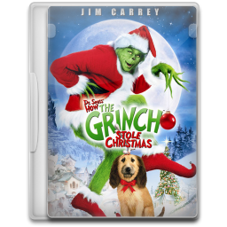 How the grinch stole christmas png. Icon movie mega pack