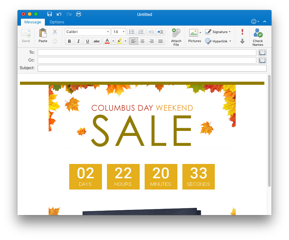 How to add png to gmail signature. Outlook countdown timer countdownmail