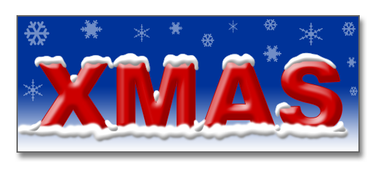 How to add png to photoshop. A snow effect text