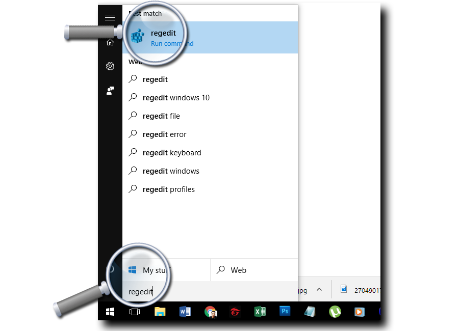 How to change png to jpg on windows 10. Registry hack part the