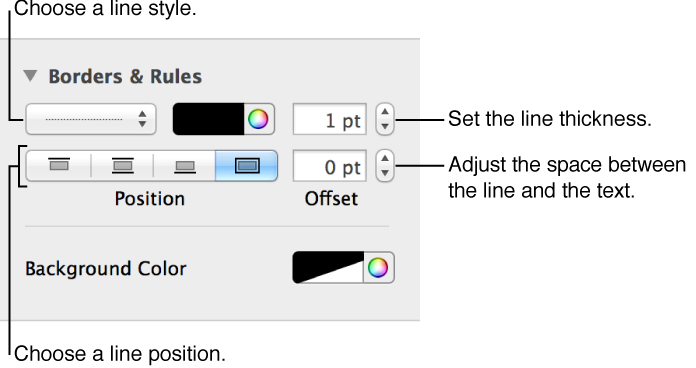 How to change the background color of a png. Add and border pages