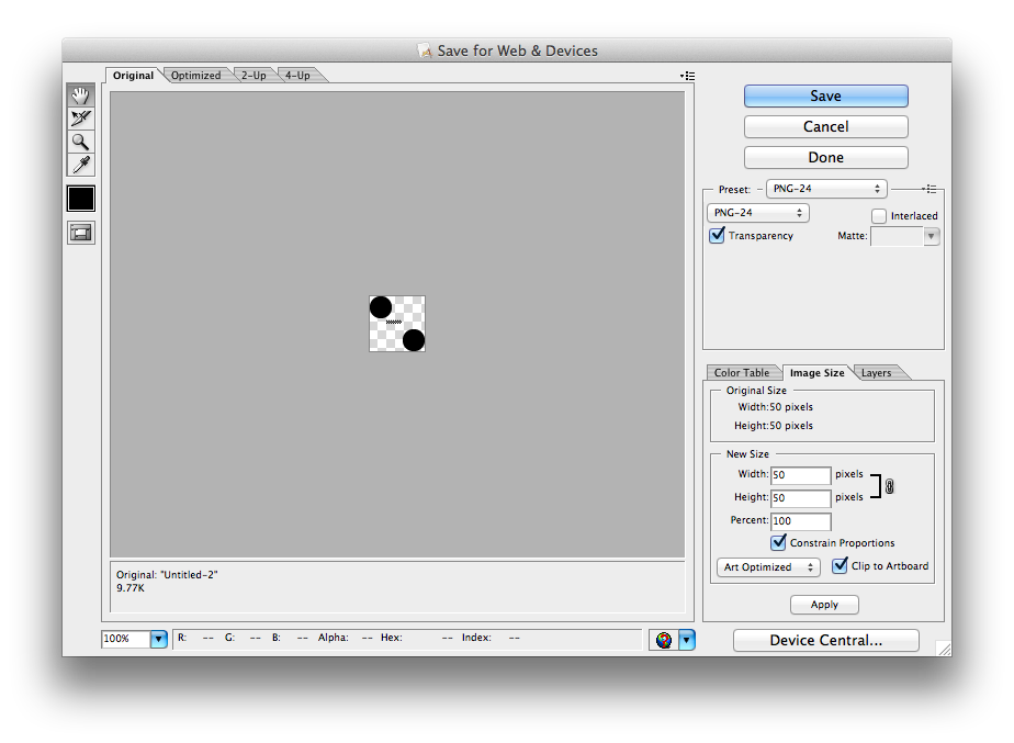 How to convert a png to a vector in illustrator. Can i export an