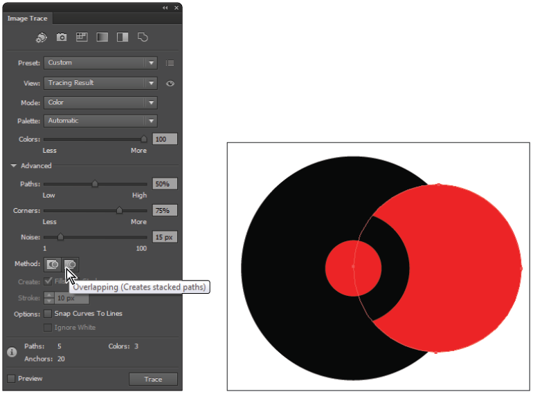 How to change the color of a png image in illustrator. Tutorial tracing images cc