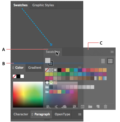 How to change the color of a png image in illustrator. Customize workspace narrow blue