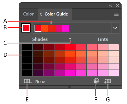 How to change the color of a png in illustrator. Work with groups harmonies
