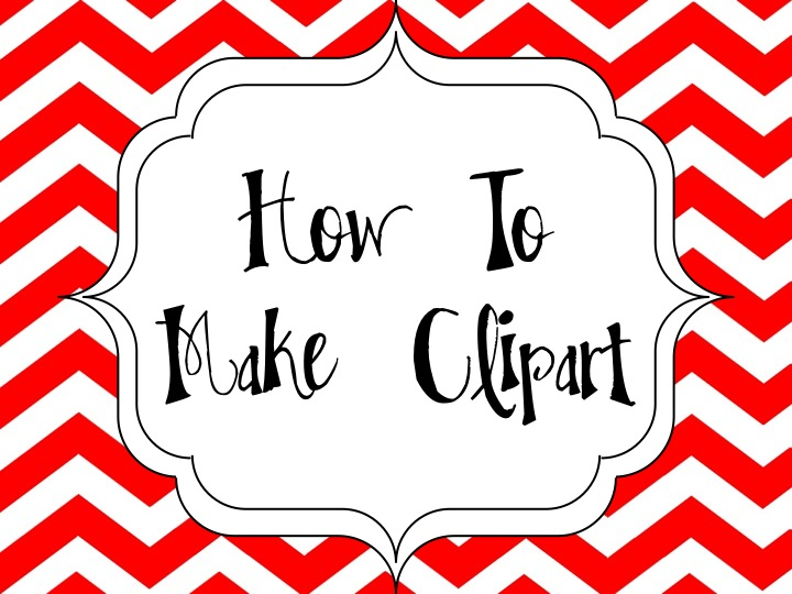 How to clipart. I make on my
