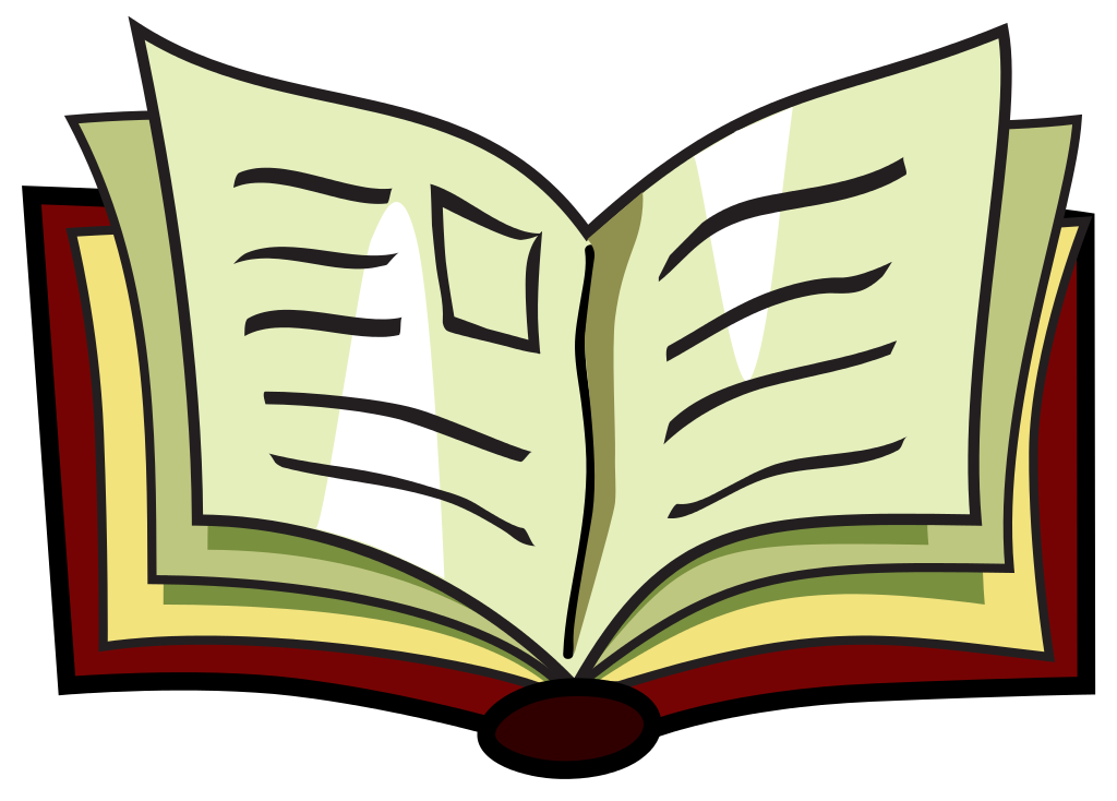 How to clipart book.