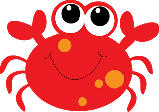 crab clipart red crab