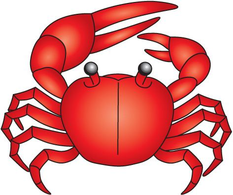 How to clipart crab clipart. Family and friends fest