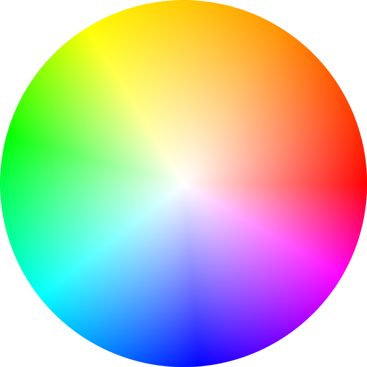 How to color a png in illustrator. Does one create wheel