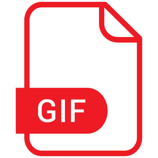 How to convert gif to png. Extension files and folders