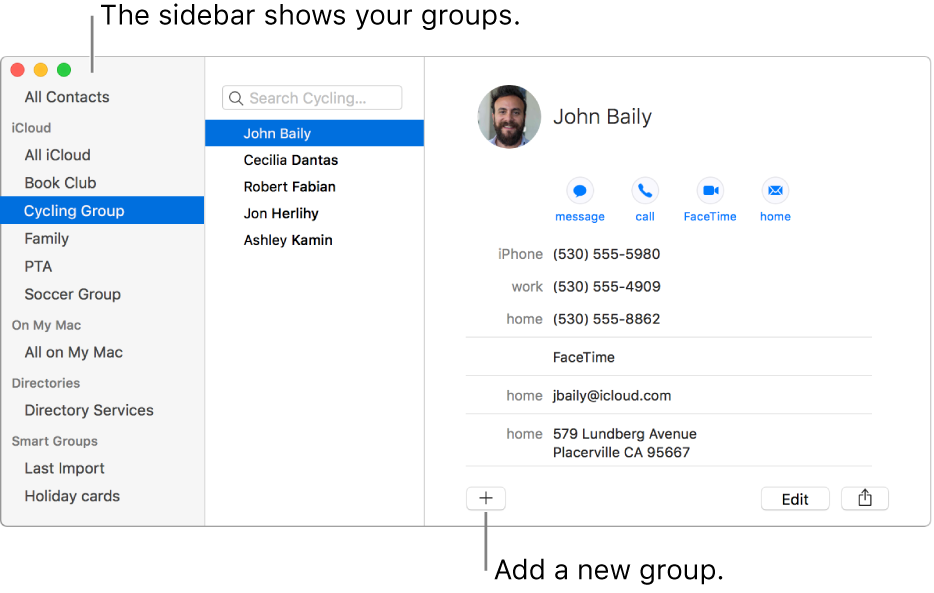 How to edit a png on mac. Create groups of contacts