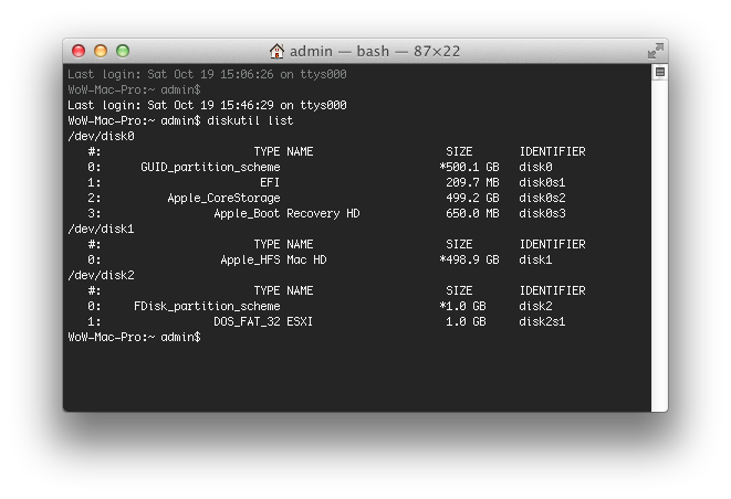 How to create a png image on mac. An esxi usb installer