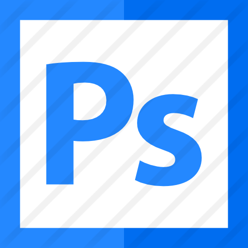 How to create a png logo in photoshop. Adobe free icons