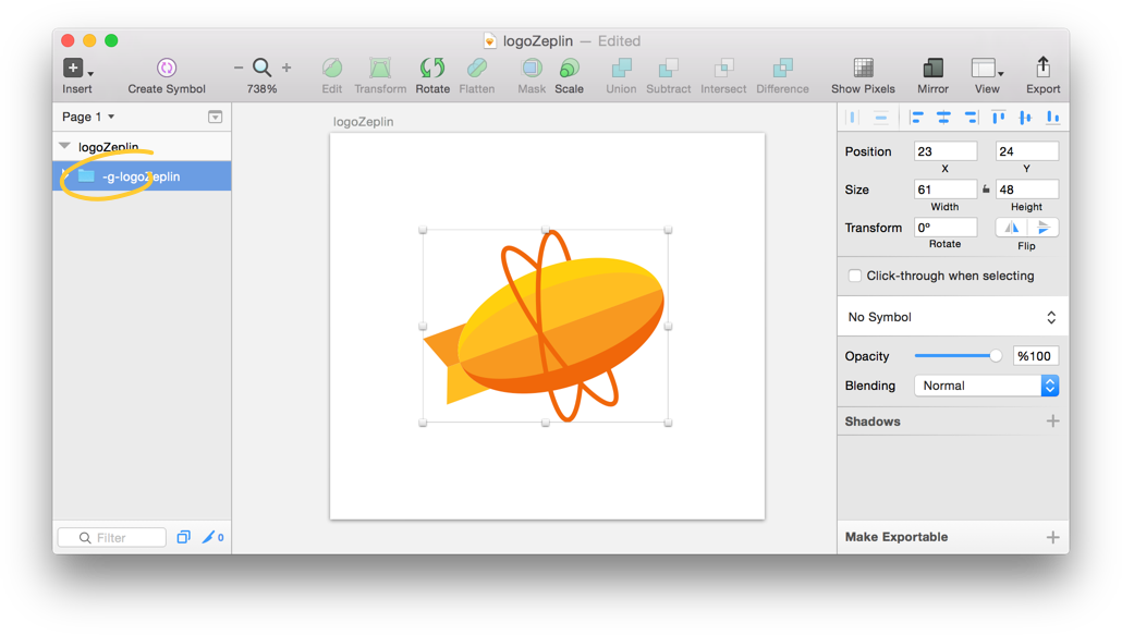 How to create a transparent png. Exporting assets in zeplin