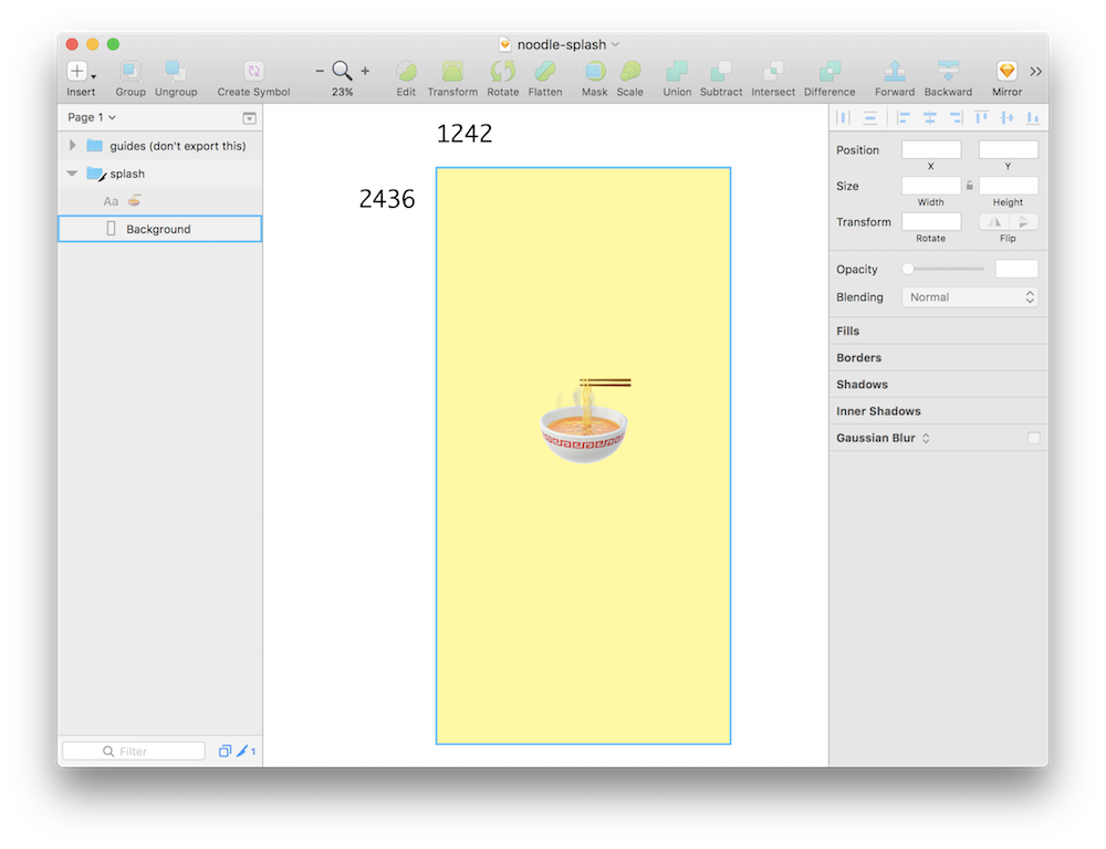 How to create a transparent png. Splash screen expo documentation