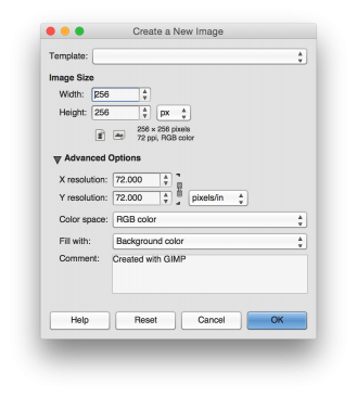 Gimp create png transparent background. Creating a favicon with
