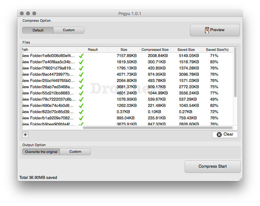 How to shrink the file size of a png. Minimize sketch files minimum