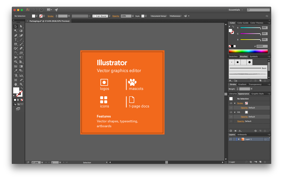 convert png to vector in illustrator