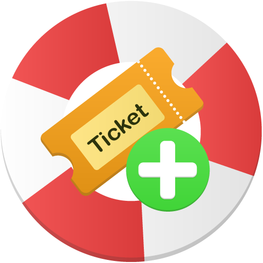 How to create ico file from png. Ticket icon flatastic iconset