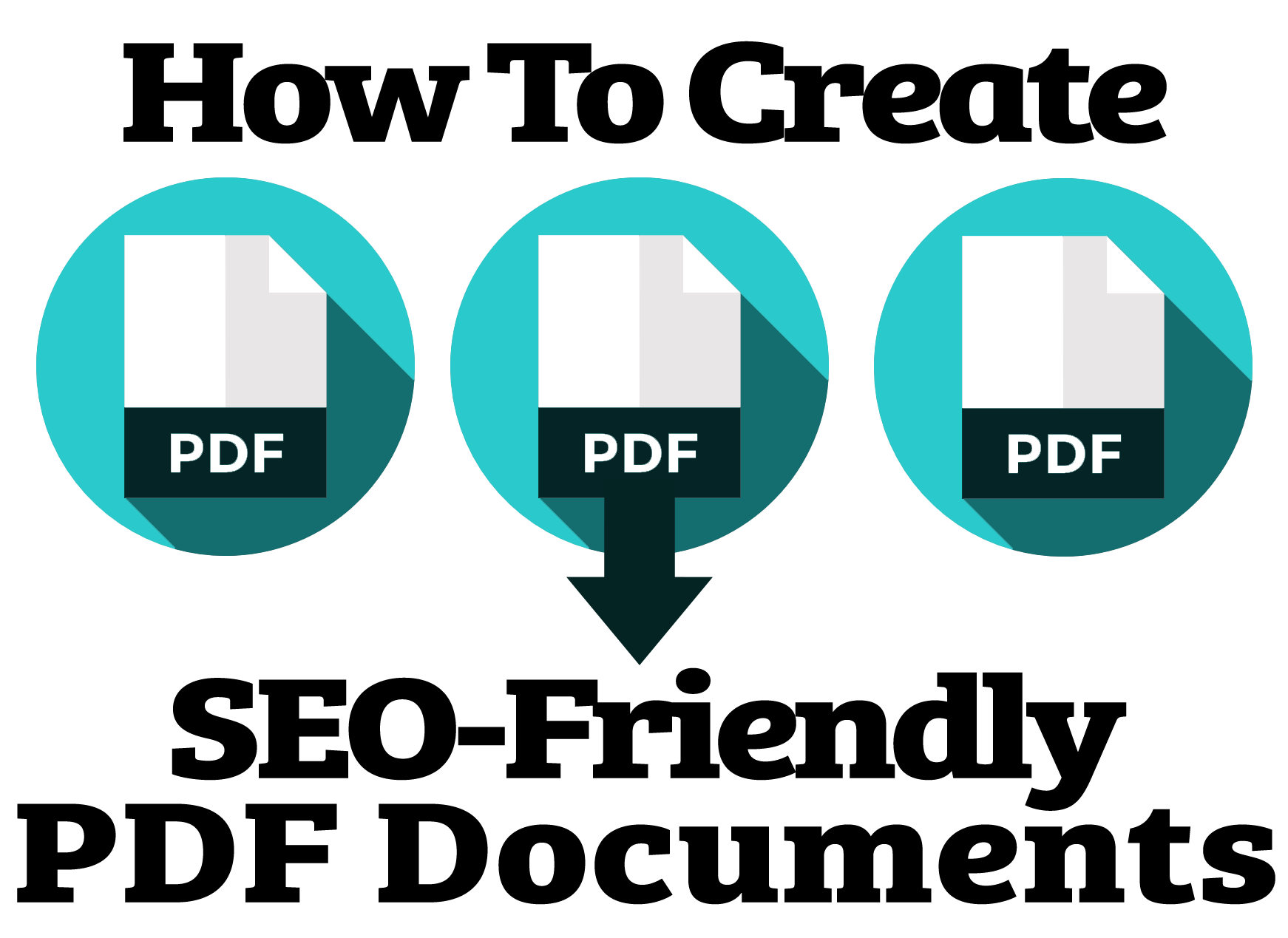 How to create png. Seo friendly pdf documents