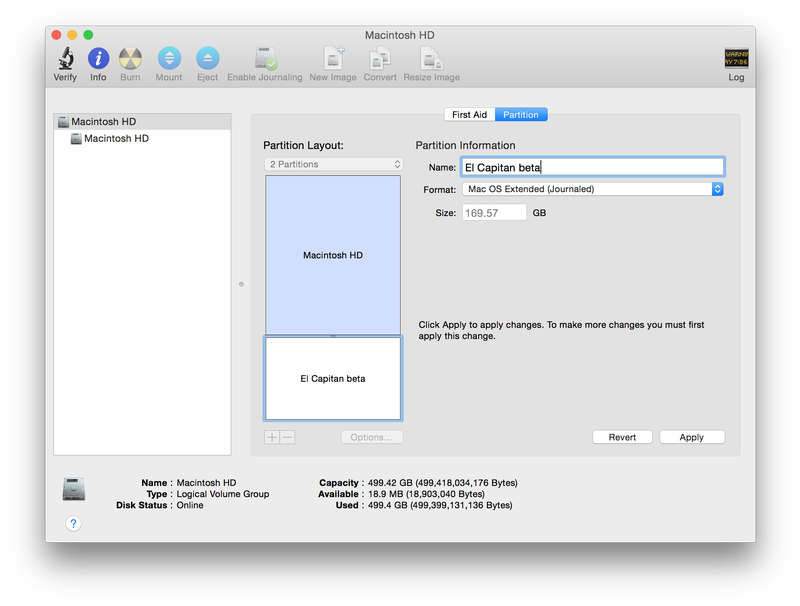 How to create png image on mac. Partition a hard drive