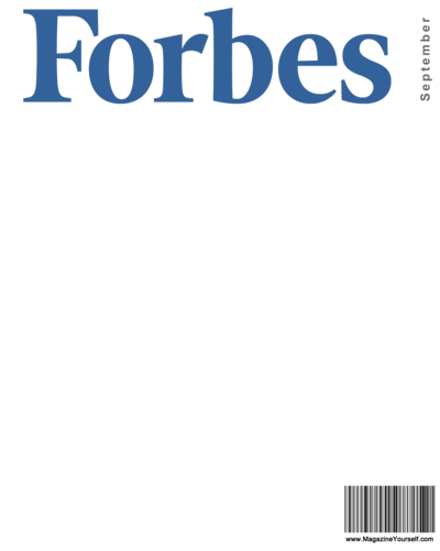 Vector magazines blank white. Create forbes magazine covers