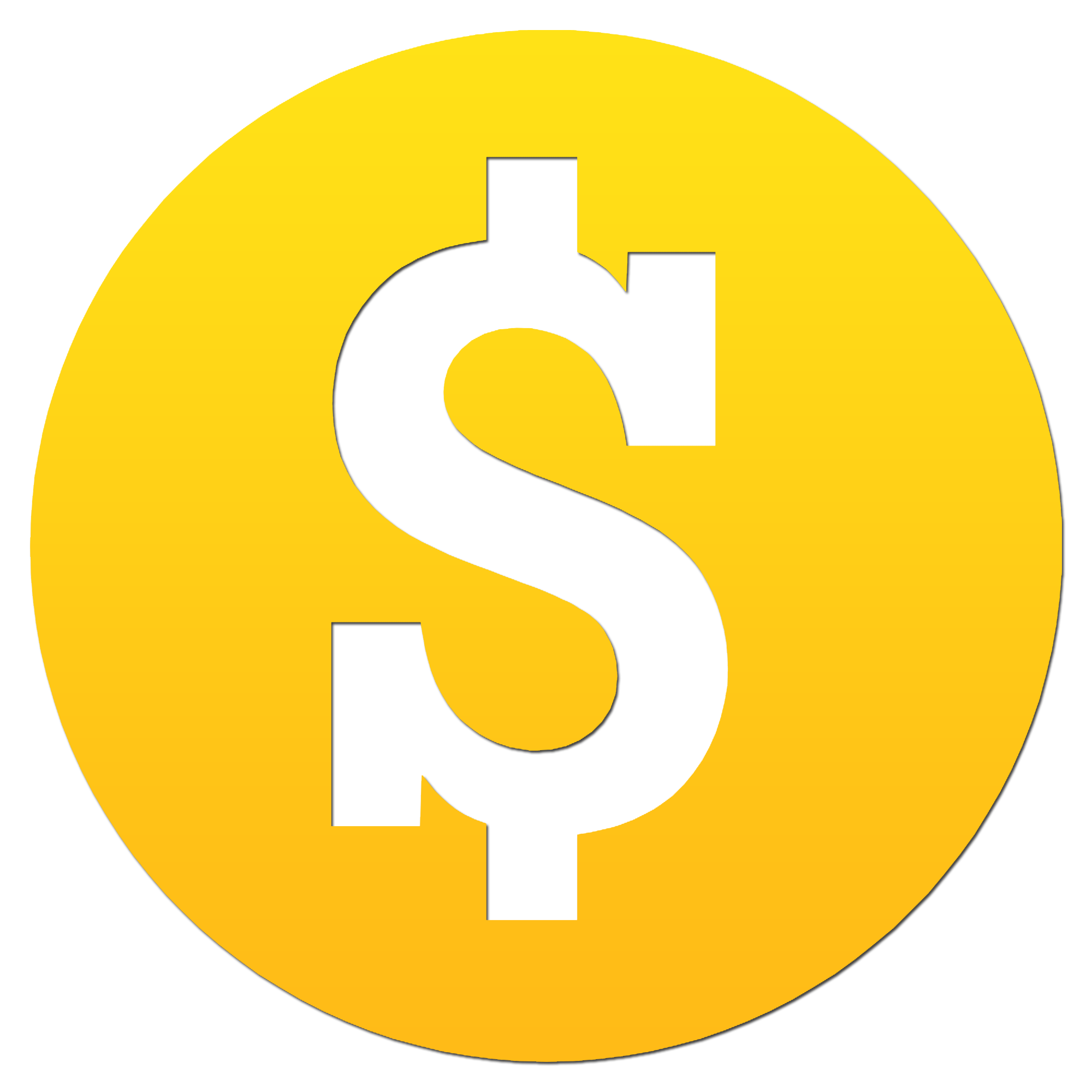 dollar sign png icon