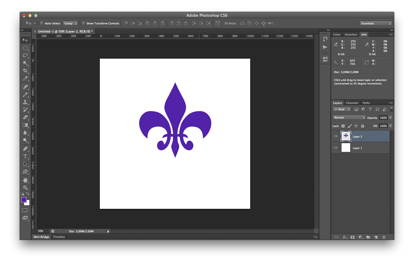How to create png in photoshop. Creating a shadow effect